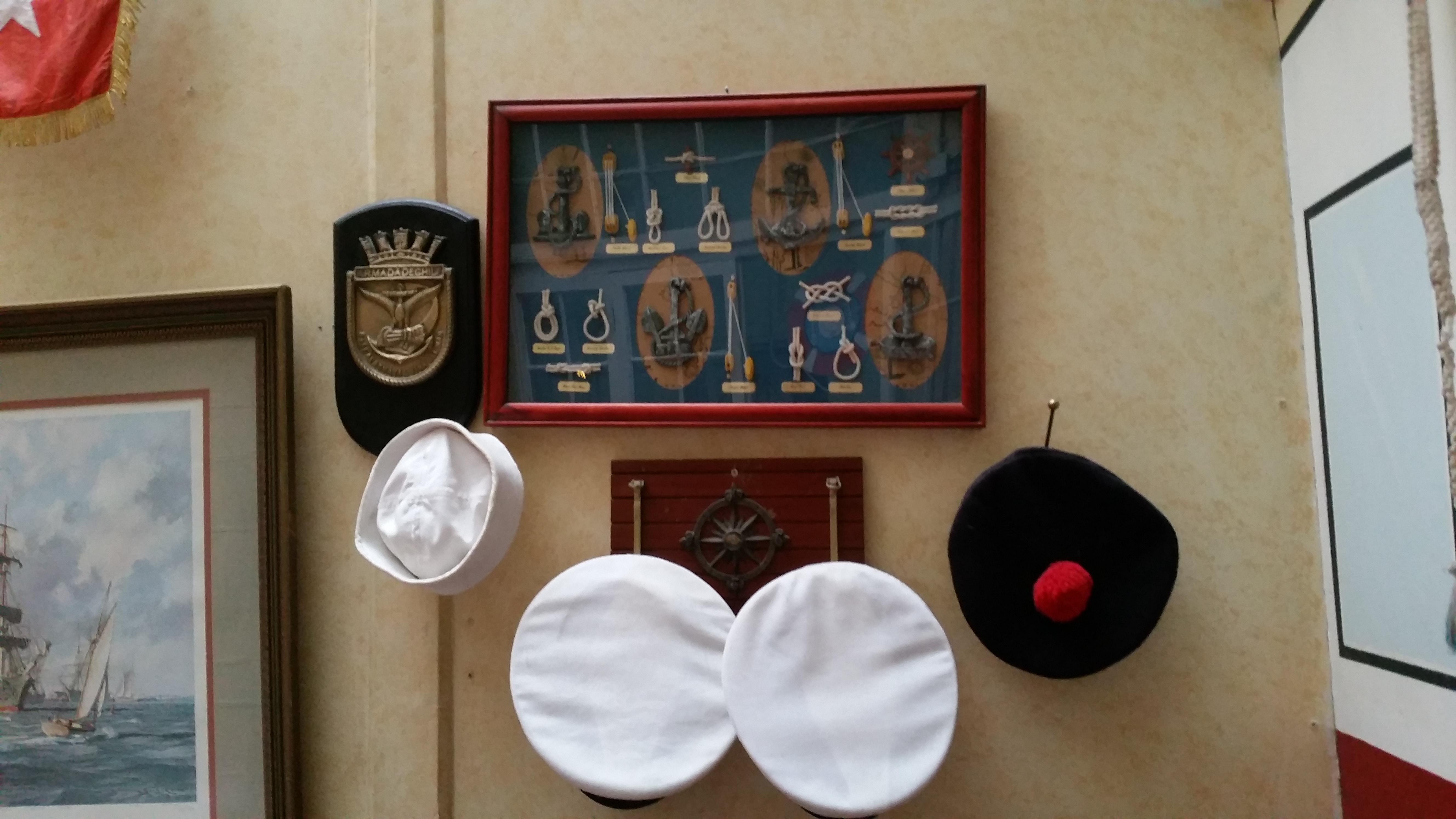 Erinnerungen an die Marine