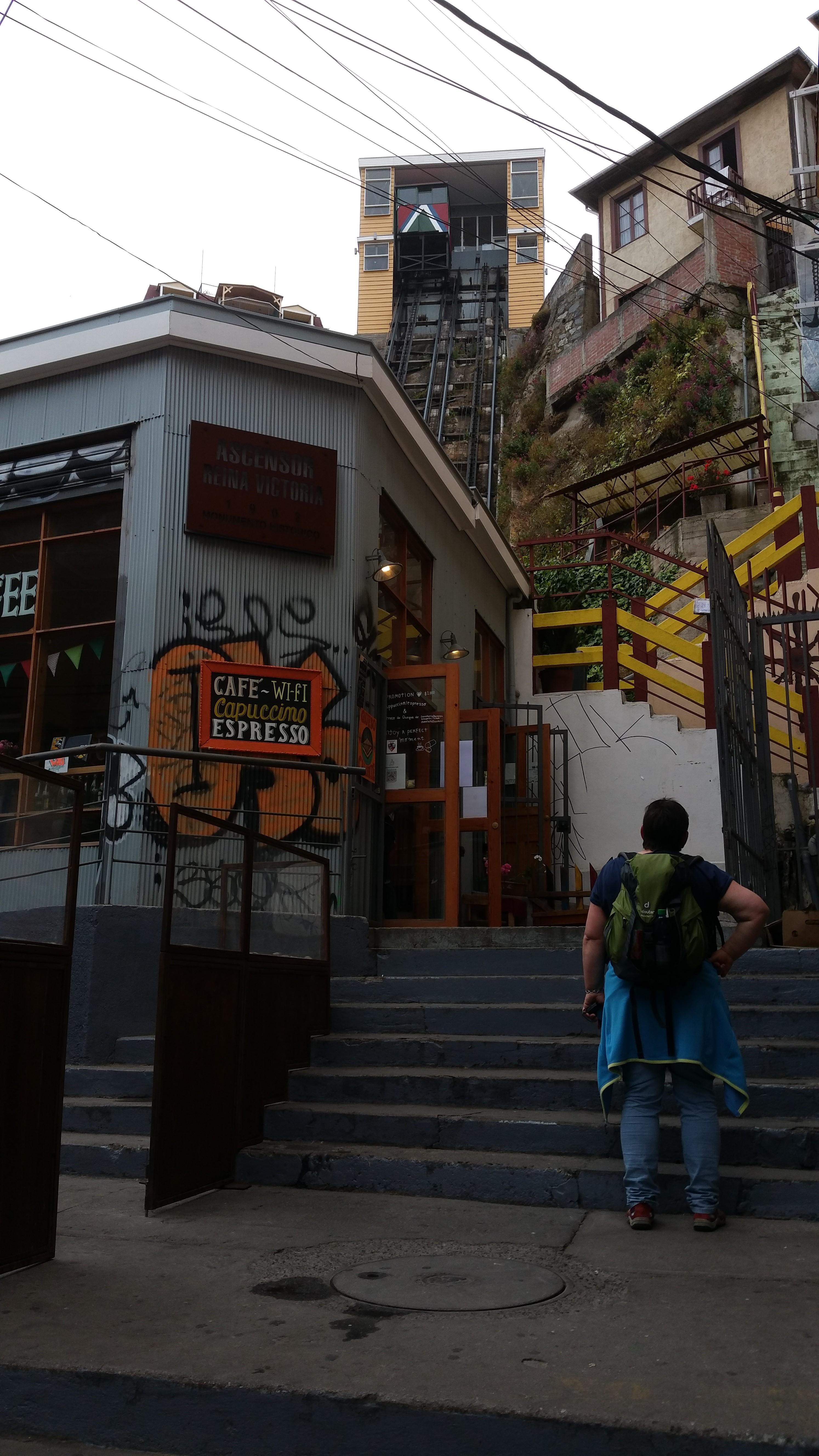 Aufzug Reina Victoria
